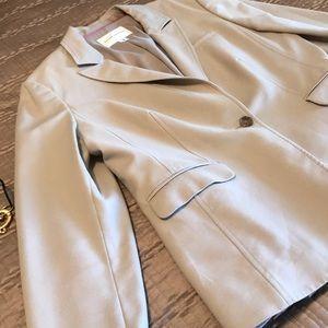 Banana Republic jacket, light tan, size 12